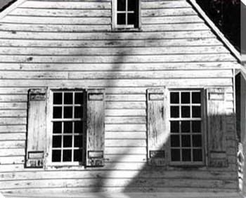 Barn Windows 4 Wrapped Canvas Giclee Print Wall Art