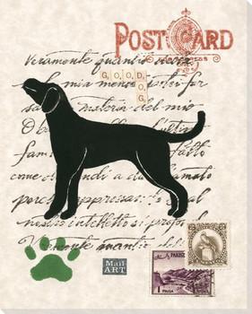 Labrador Retriever Dog Wrapped Canvas Giclee Print Wall Art