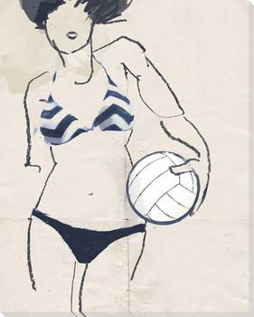 Bikini 2 Wrapped Canvas Giclee Print Wall Art