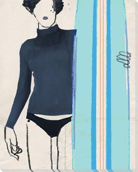 Bikini 9 Wrapped Canvas Giclee Print Wall Art