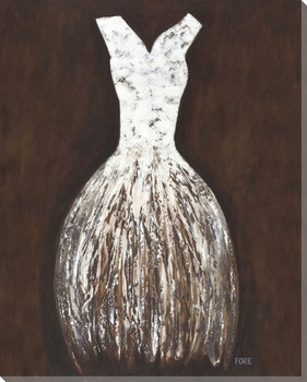 Dress Fig 2 Wrapped Canvas Giclee Print Wall Art
