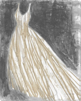 Heirloom Gown I Wrapped Canvas Giclee Print Wall Art