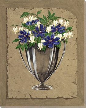 Bouquet Flowers I Wrapped Canvas Giclee Print Wall Art