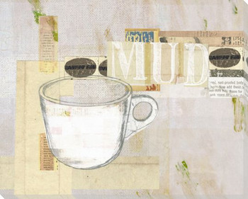 Cup of Mud Wrapped Canvas Giclee Print Wall Art