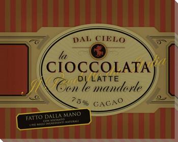 Cioccolata Con le Mandorle Wrapped Canvas Giclee Print Wall Art