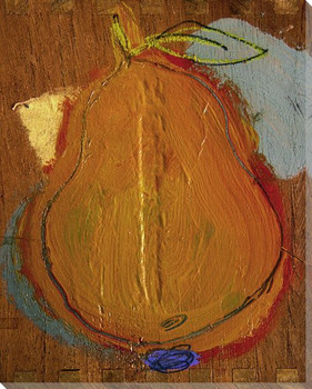 Pear II Wrapped Canvas Giclee Print Wall Art
