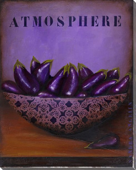 Atmosphere Wrapped Canvas Giclee Print Wall Art