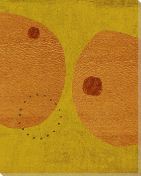 Garden Jazz 3 Wrapped Canvas Giclee Print Wall Art