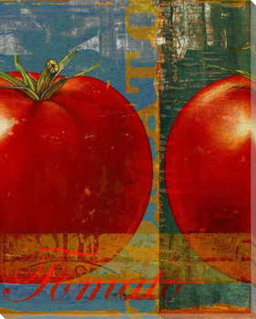 Tomato Press Proof Wrapped Canvas Giclee Print Wall Art