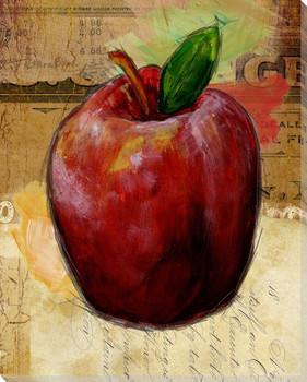 Grainger Fruit Apple Wrapped Canvas Giclee Print Wall Art