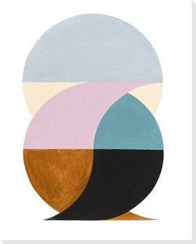 Balancing Act I Wrapped Canvas Giclee Print Wall Art