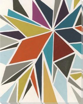 Pinwheel I Wrapped Canvas Giclee Print Wall Art