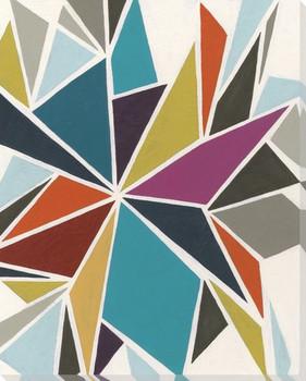 Pinwheel II Wrapped Canvas Giclee Print Wall Art