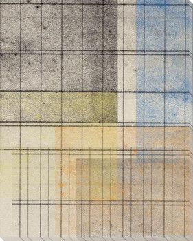 Grid Abstract Geometric 4 Wrapped Canvas Giclee Art Print Wall Art