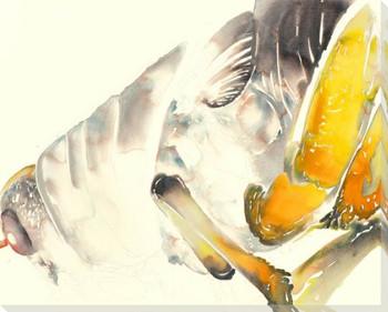 Big Hopper Wrapped Canvas Giclee Print Wall Art