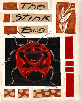 The Stink Bug Wrapped Canvas Giclee Print Wall Art
