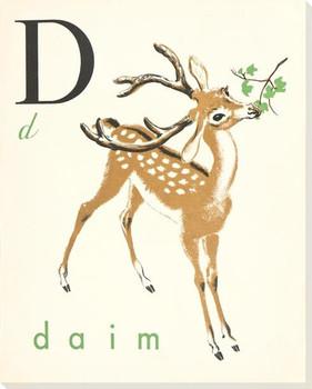 D. Daim Wrapped Canvas Giclee Print Wall Art
