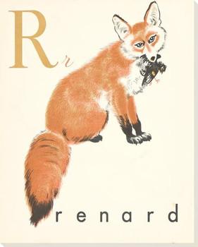 R. Renard Wrapped Canvas Giclee Print Wall Art