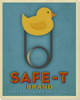 Safe-T Duck Wrapped Canvas Giclee Print Wall Art