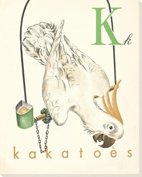 K. Kakatoes Wrapped Canvas Giclee Print Wall Art