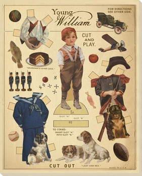 Young William Wrapped Canvas Giclee Print Wall Art