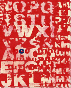Red See with Letter C Wrapped Canvas Giclee Print Wall Art