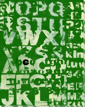 Green See with Letter C Wrapped Canvas Giclee Print Wall Art