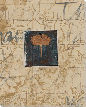 Nomad I Map Wrapped Canvas Giclee Print Wall Art