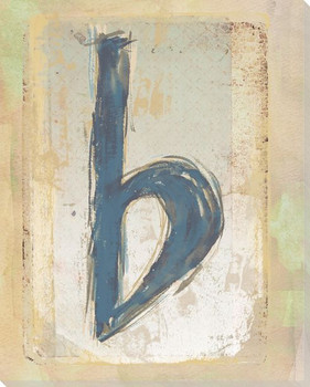 Musical Symbol Flat Wrapped Canvas Giclee Print Wall Art