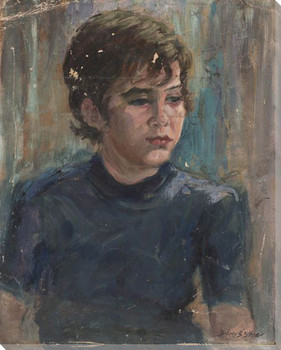 Josephine Portrait Wrapped Canvas Giclee Print Wall Art