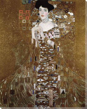 Portrait of Adele Bloch Bauer I Wrapped Canvas Giclee Print