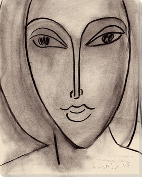 Portrait De Rosabianca Skira, 1948 Wrapped Canvas Giclee Print