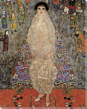 Portrait of Elisabeth Bachofen Echt Wrapped Canvas Giclee Print
