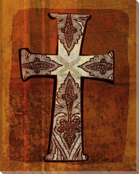 Cross 1 Wrapped Canvas Giclee Print Wall Art