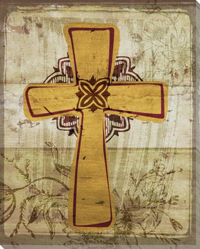 Cross 2 Wrapped Canvas Giclee Print Wall Art