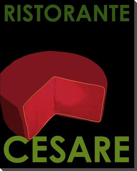Cesare Wrapped Canvas Giclee Print Wall Art