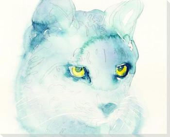 Lynx Wrapped Canvas Giclee Art Print Wall Art