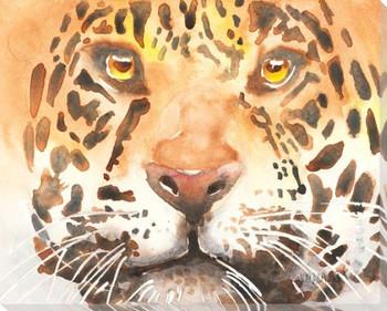 Jaguar Wrapped Canvas Giclee Art Print Wall Art