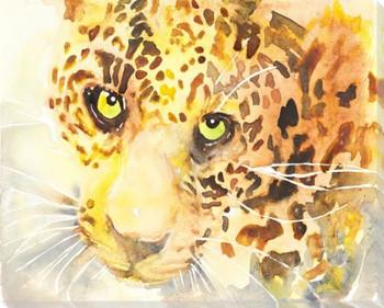 Cheetah Wrapped Canvas Giclee Art Print Wall Art