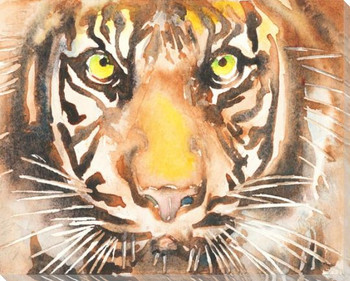 Siberian Tiger Wrapped Canvas Giclee Art Print Wall Art