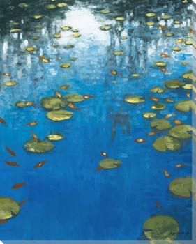 Royal Pond I Wrapped Canvas Giclee Print Wall Art