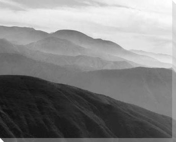 Mountains & Haze II Wrapped Canvas Giclee Print Wall Art