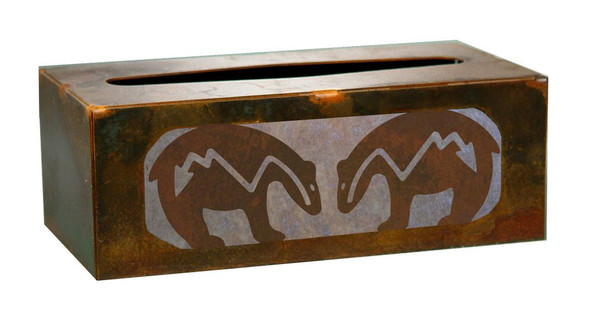 Fetish Bear Metal Flat Tissue Box Cover