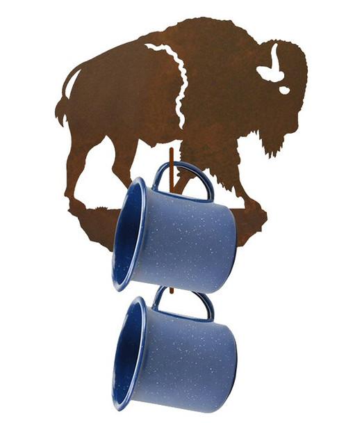Buffalo Metal Mug Holder Wall Rack