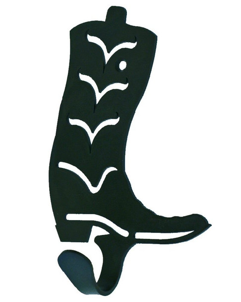 Cowboy Boot Small Single Metal Wall Hook