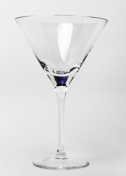 Sade Romanian Crystal Martini Glasses, Set of 4