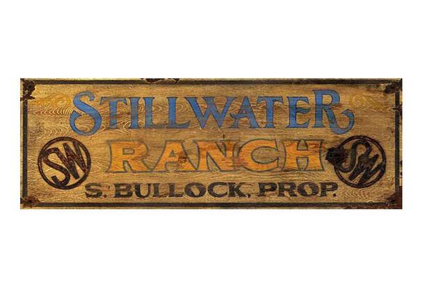 Custom Stillwater Ranch Vintage Style Metal Sign
