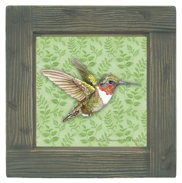 Hummingbird Breeze Beverage Coasters, Set of 8