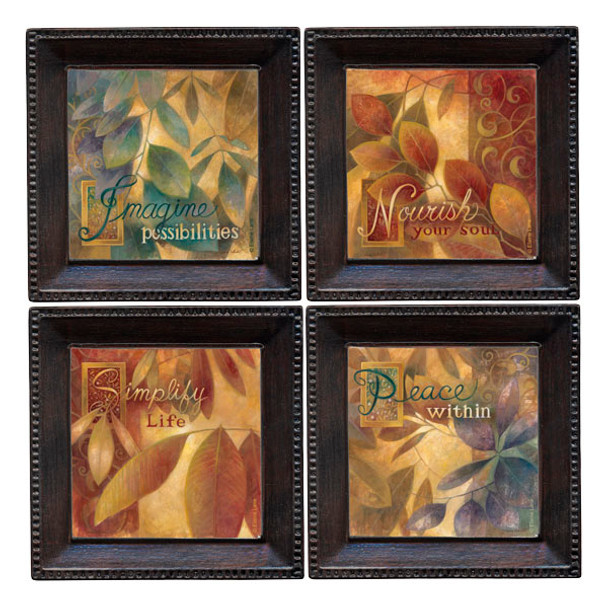 Nourish Beverage Coasters, Set of 8