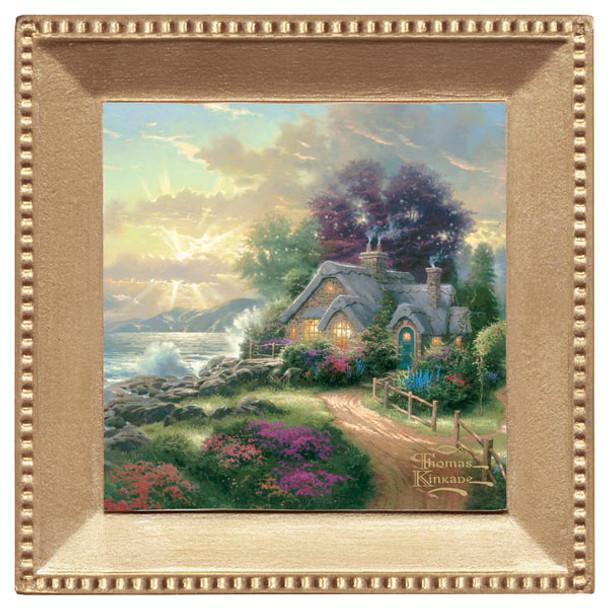 A New Day Dawning Scenery Beverage Coasters, Set of 8